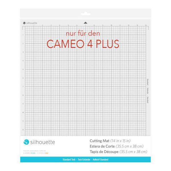 Jalino.ch - Silhouette Schneideunterlage 15 normale Haftung für Silhouette CAMEO4 Plus
