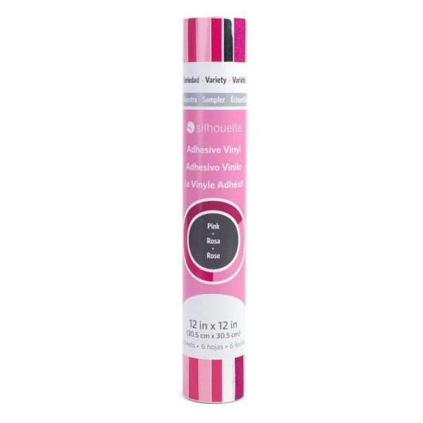 Silhouette Vinyl Samplerpack Pink/Rosa