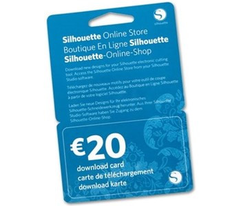 Jalino.ch - Silhouette Download-Guthaben 20€ Code per Email