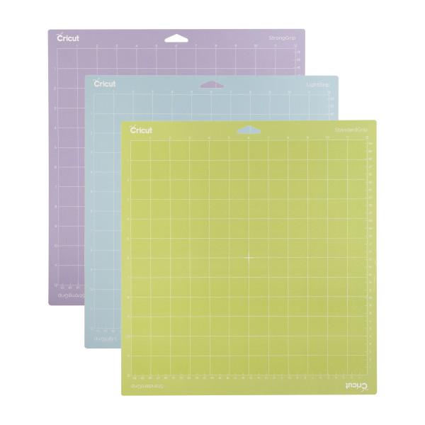 """Jalino.ch - Cricut Schneidematten 3er Set 30.5 x 30,5cm (Cutting Mat 12"""" x 12"""" Variety)"""