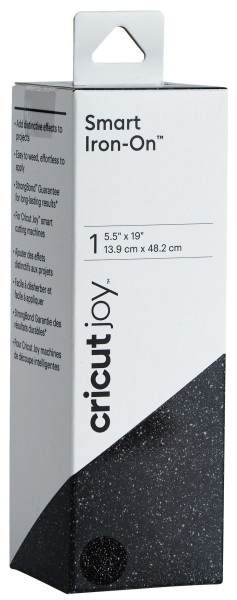 Jalino.ch - Cricut Joy Smart Iron-On Glitter Flexfolie schwarz
