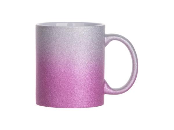 Jalino.ch - Sublistar Keramiktasse SPARK- 11oz silver purple