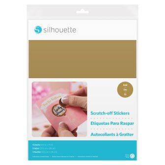 Jalino.ch - Silhouette Rubbelsticker - gold