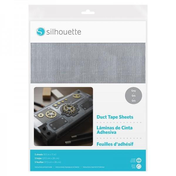Jasando.ch - SIlhouette bedruckbares Stickerpapier grau