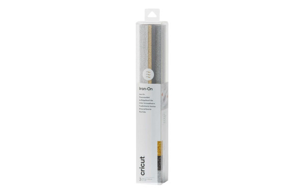 Jalino.ch - Flexfolie Glitter Basic 30.5 x 30.5 cm, 3 Bögen