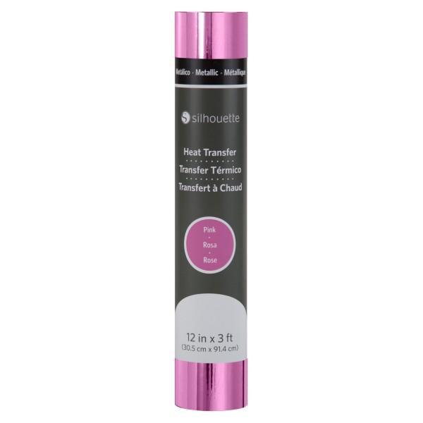 Jasando.ch - Silhouette Metallic Heat Transfer - pink