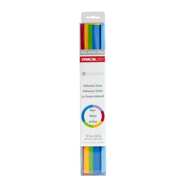 Jalino.ch - Silhouette Vinylfolie Oracal 651 Samplerpaket mehrfarbig