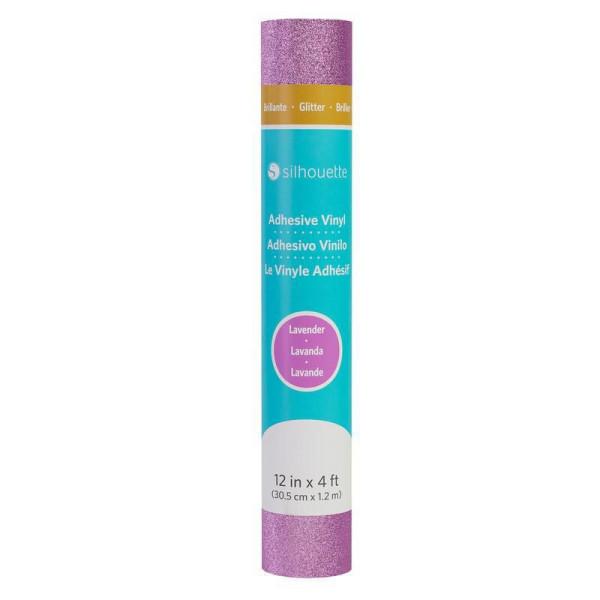 Jalino.ch - Silhouette Vinylfolie Glitter Lavendel 30.5 cm
