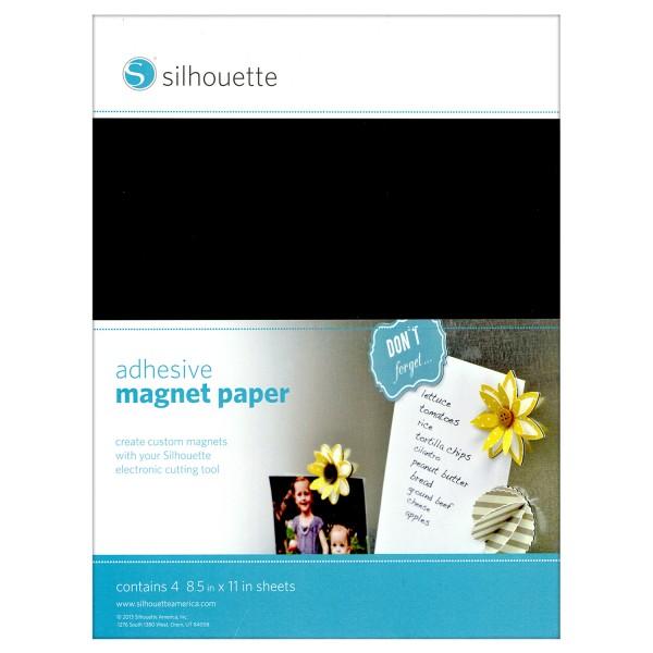 Jasando.ch - Silhouette Magnet-Papier-selbstklebend