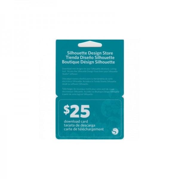 Jasando.ch - Silhouette Downloadkarte im Wert von 25$