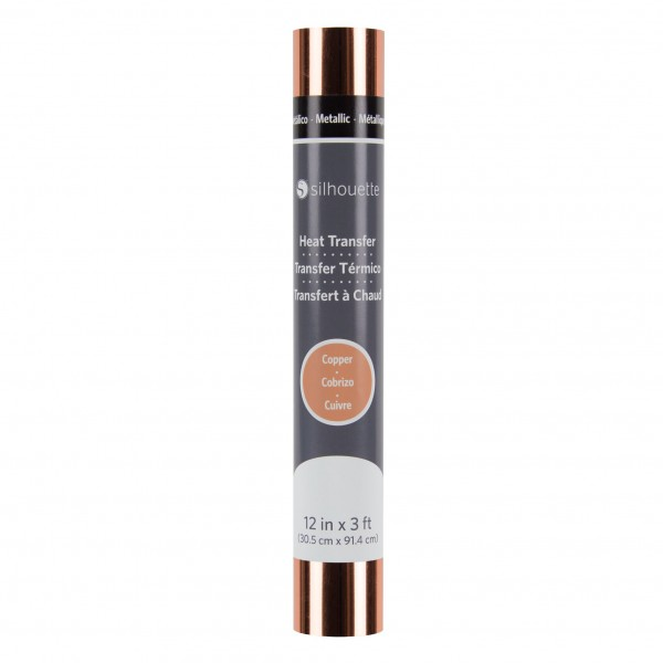 Jasando.ch - Silhouette Metallic Heat Transfer - kupfer