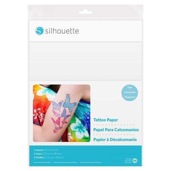 Jalino.ch - Silhouette bedruckbares Tattoo Papier