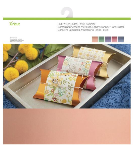 Jalino.ch - Cricut Cardstock Posterboard 30.5x30.5 cm, mehrfarbig, 10 Stk.