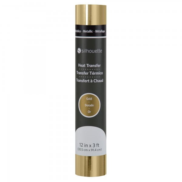 Jasando.ch - Silhouette Metallic Heat Transfer - gold