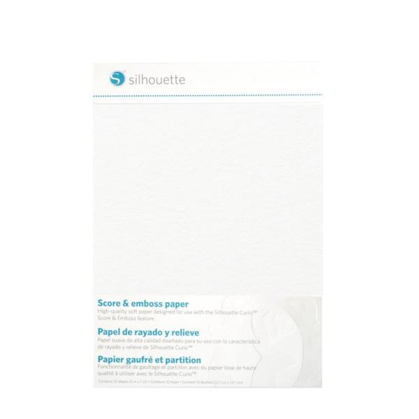 Jalino.ch - Silhouette Prägepapier 12,5 x 17cm
