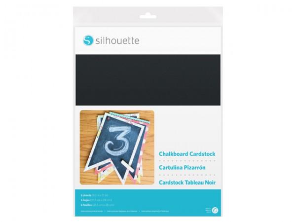 Jalinoo.ch - Silhouette Kreidetafel Fotokarton selbstklebend