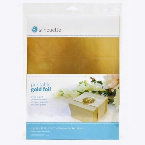 Jasando.ch - Silhouette bedruckbare Goldfolie