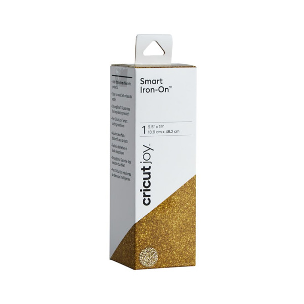 Jalino.ch - Cricut Joy Smart Iron-On Glitter Flexfolie gold
