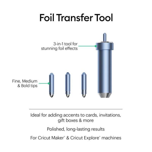 Jalino.ch - Cricut Folientransfer Werkzeugspitzen ohne Halterung