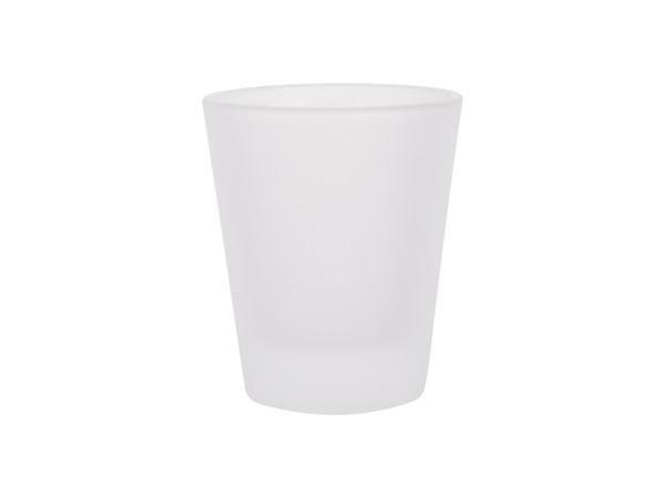 Jalino.ch - konisches Schnapsglas satiniert